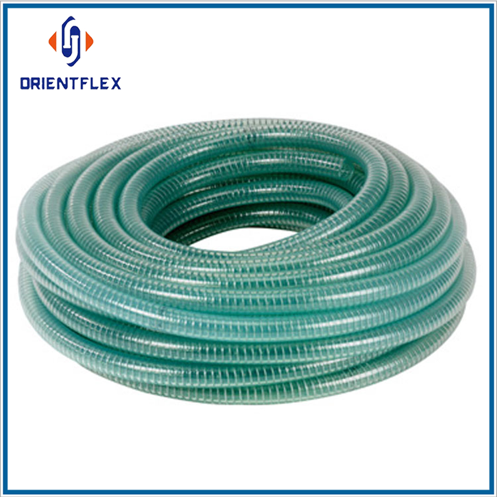 PVC steel wire hose-wire reinforced hose-water suction hose
