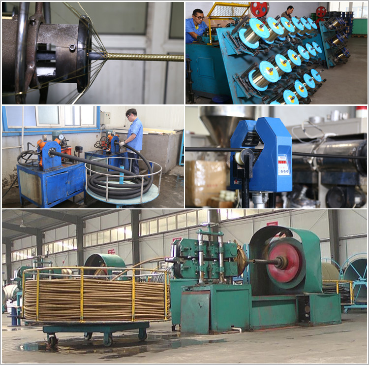 braided hydraulic hose factory